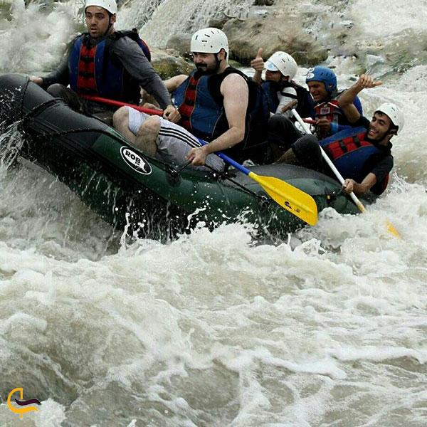 عکس رفتینگ رودخانه هراز