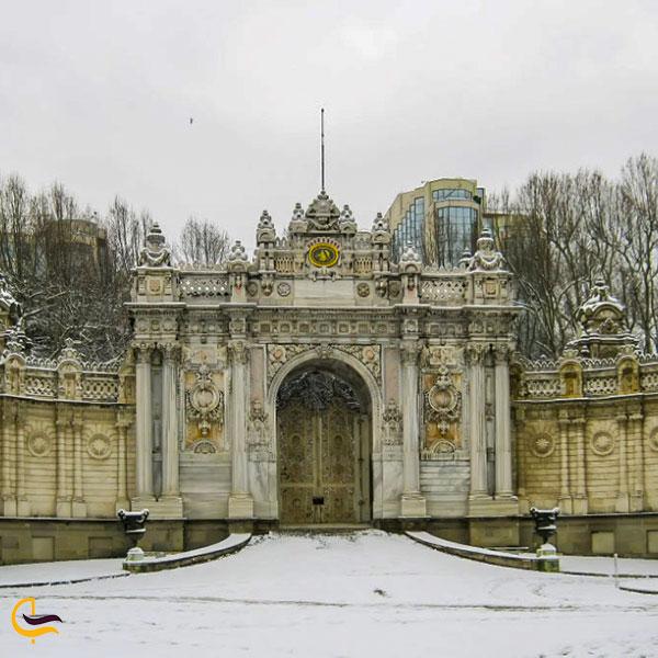 عکس تاریخچه کاخ دلما باغچه