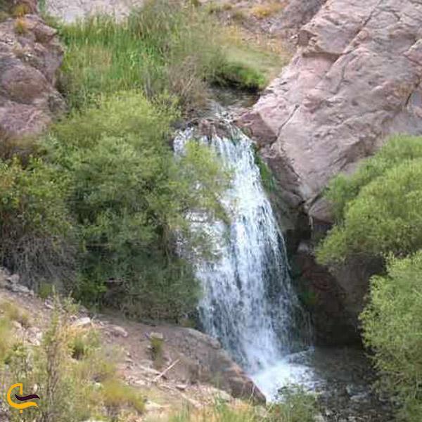 تصویری از آبشار حرمک