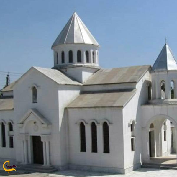 تصویری از کلیسای ارامنه مانوکیان