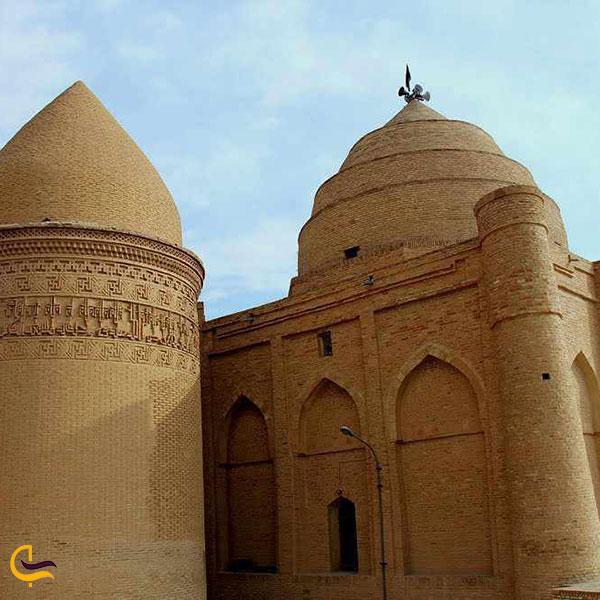 عکس امامزاده سه گنبدان