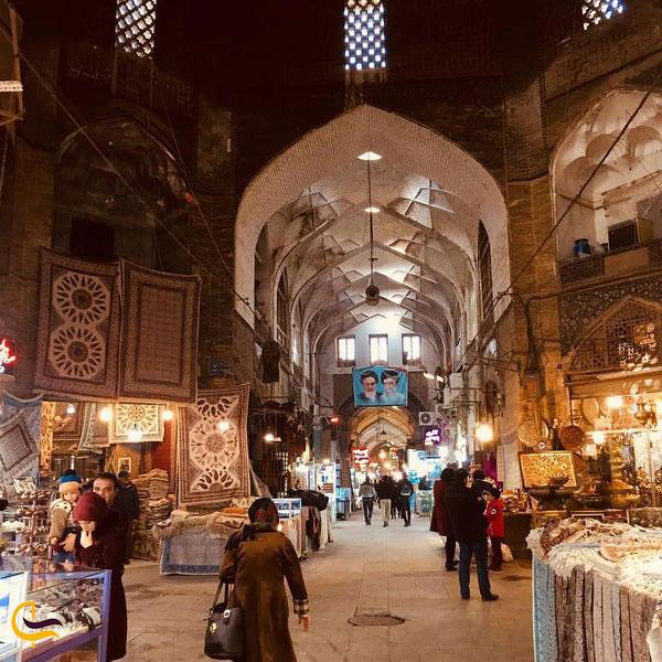 عکس داخل بازار بزرگ حکیم