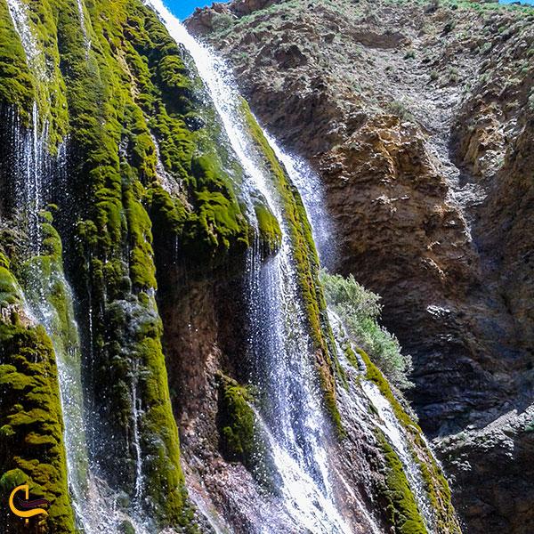 عکس آبشار پونه زار اصفهان