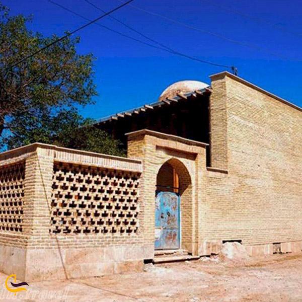 تصویر ی از مسجد جامع ابهر