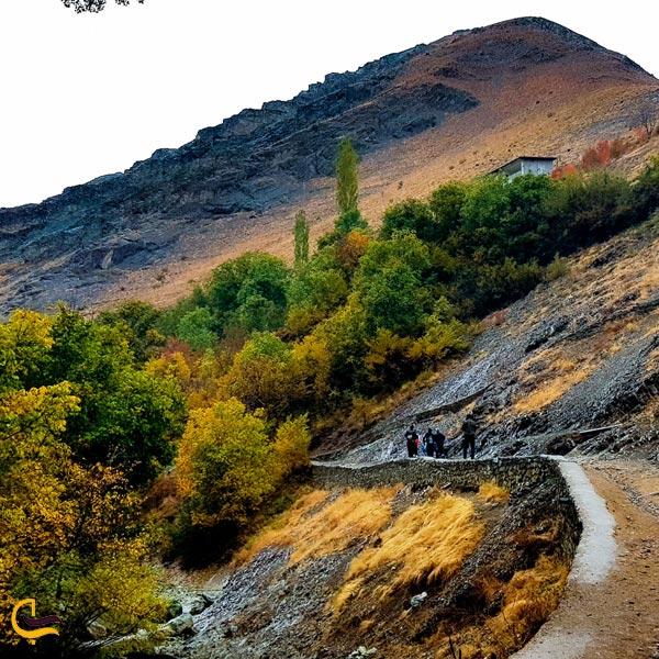 نمایی از روستای اهار