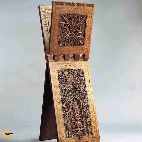 تصویری از موزه آثار چوبی
