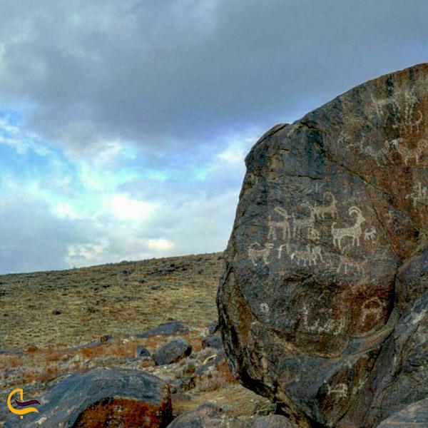 تصویری از پارک ملی سنگ نگاره کمر مقبولا