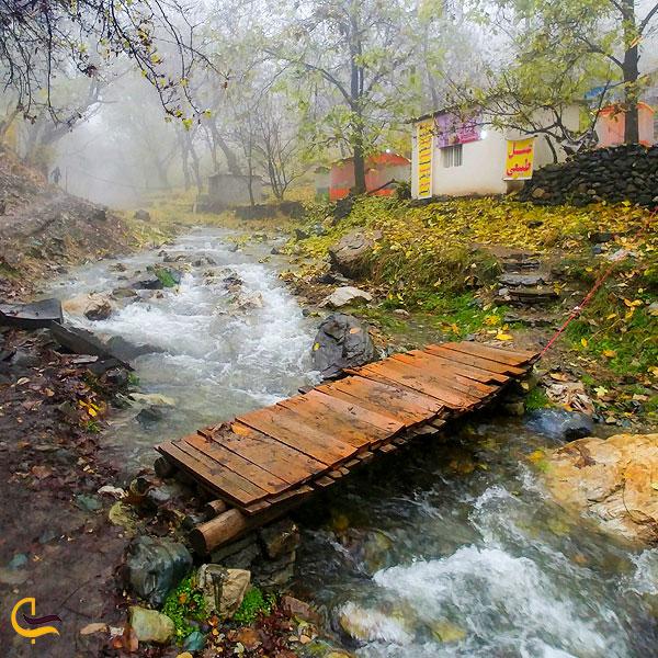 عکس طبیعت روستای سنج