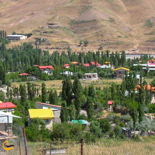 عکس روستای وشته