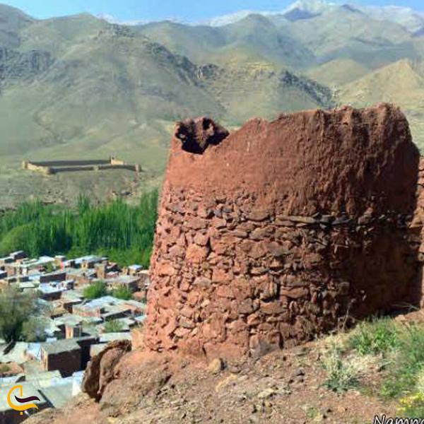 تصویری از قلعههای تاریخی ابیانه
