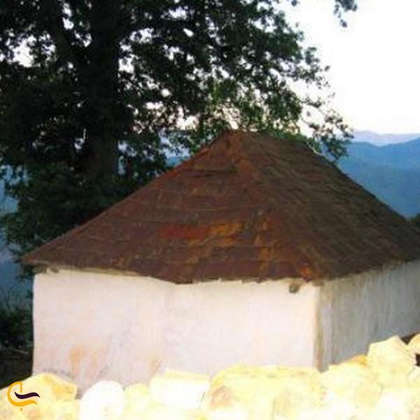 تصویری از معبد دختر پاک