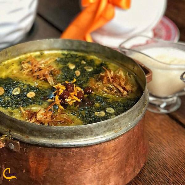 تصویری از غذاهای محلی سقز