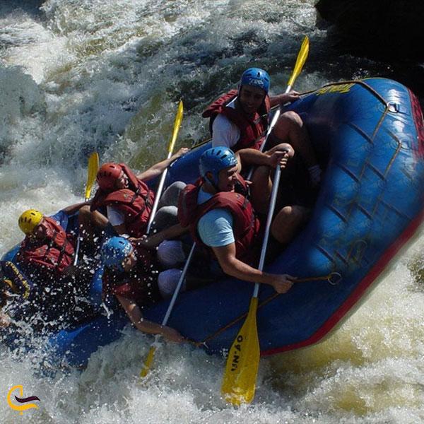 عکس رفتینگ رودخانه کشکان لرستان