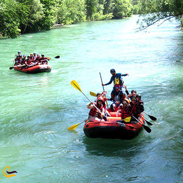 عکس رفتینگ رودخانه سزار لرستان