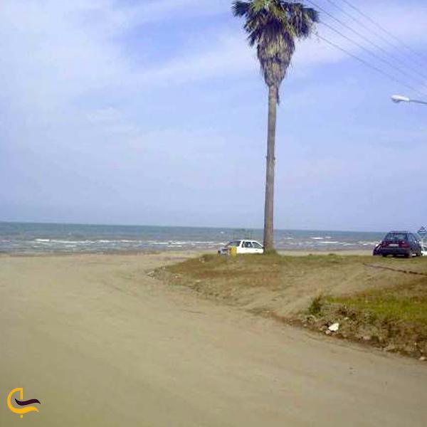 نمایی از ساحل رامدشت