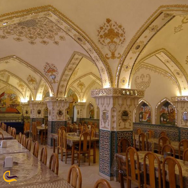 تصویری از رستوران باستانی اصفهان