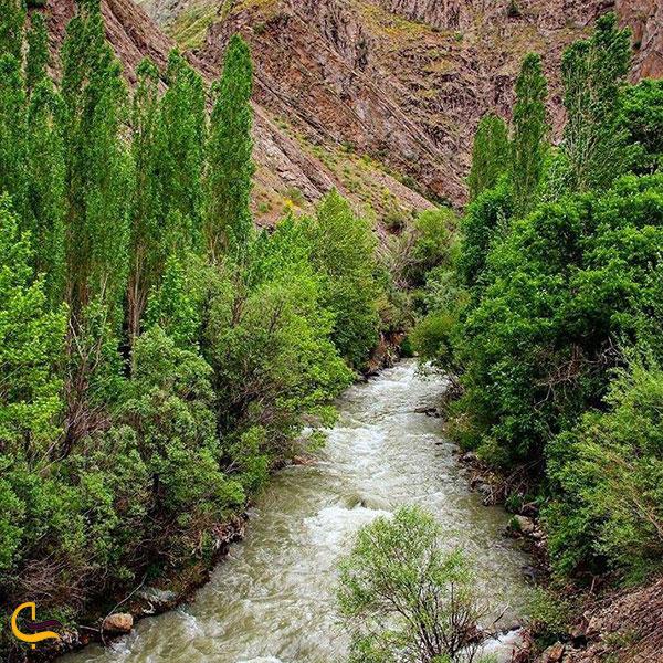 عکس رودخانه روستای گچسر کرج