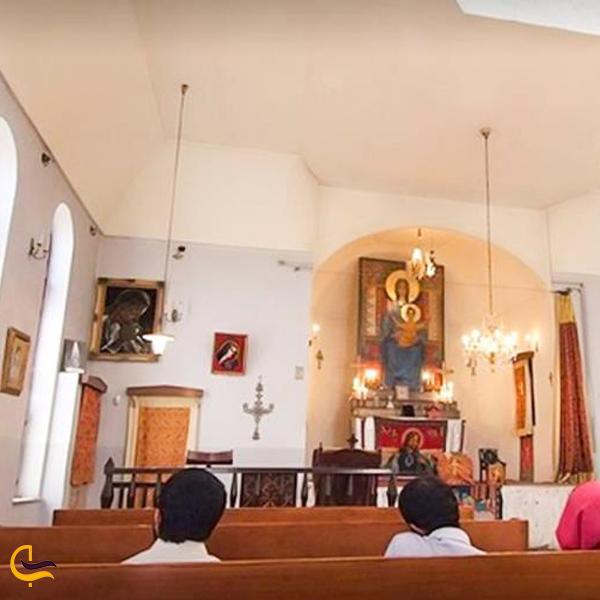نمایی از داخل کلیسای سورپ مسروپ