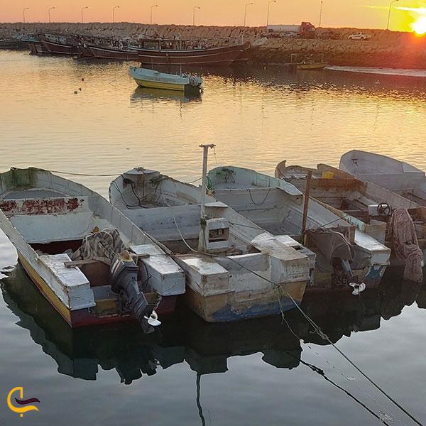 عکس قایق های ساحل سلخ