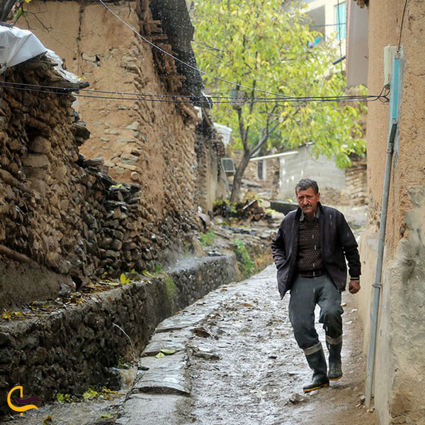 عکس روستای سنج