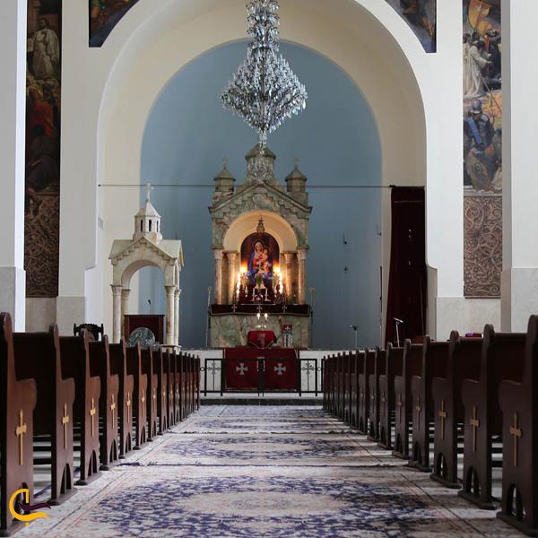 تصویری از کلیسای جامع سارکیس مقدس