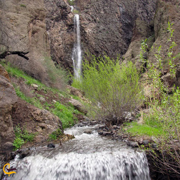 عکس آبشار سیجان