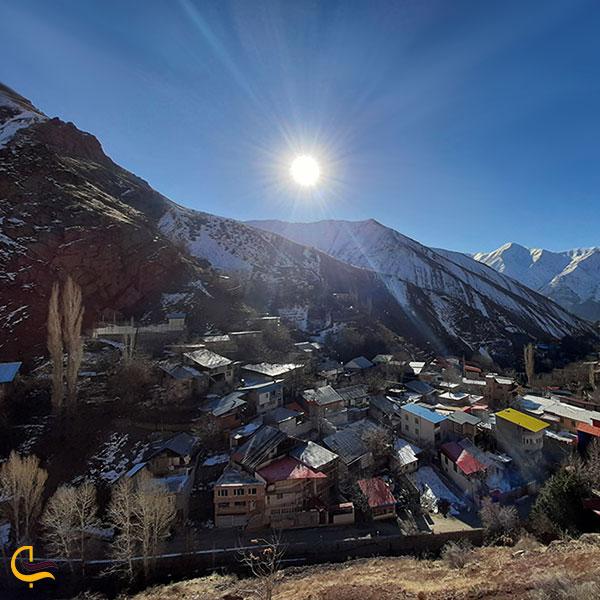 عکس روستای تکیه سپهسالار