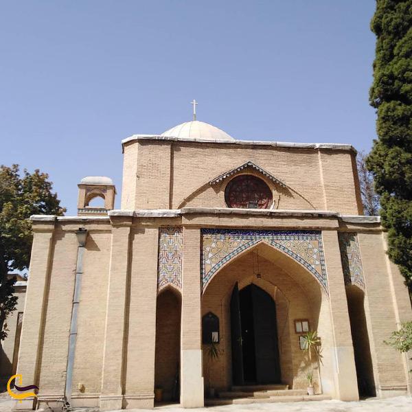 تصویری از کلیسای شمعون غیور شیراز