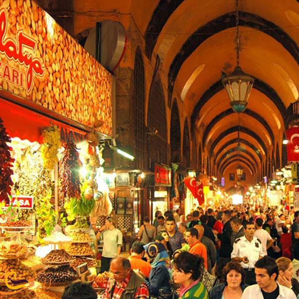تصویری از بازار ادویه