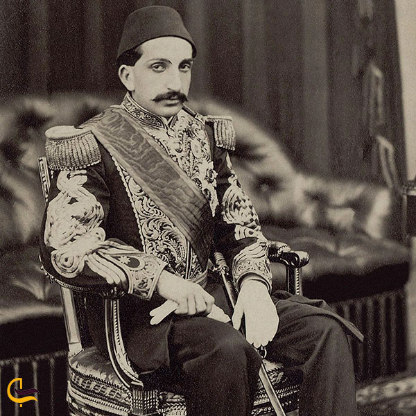 عکس سلطان عبدالحمید دوم