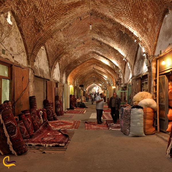 تصویری از بازار سنتی تبریز