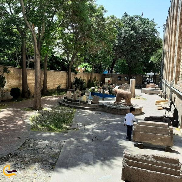 عکس موزه سنگی تبریز