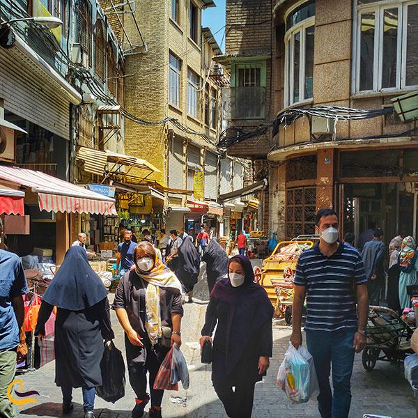عکس بازار بزرگ تهران