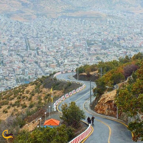 عکس مسیر قلعه ایمام