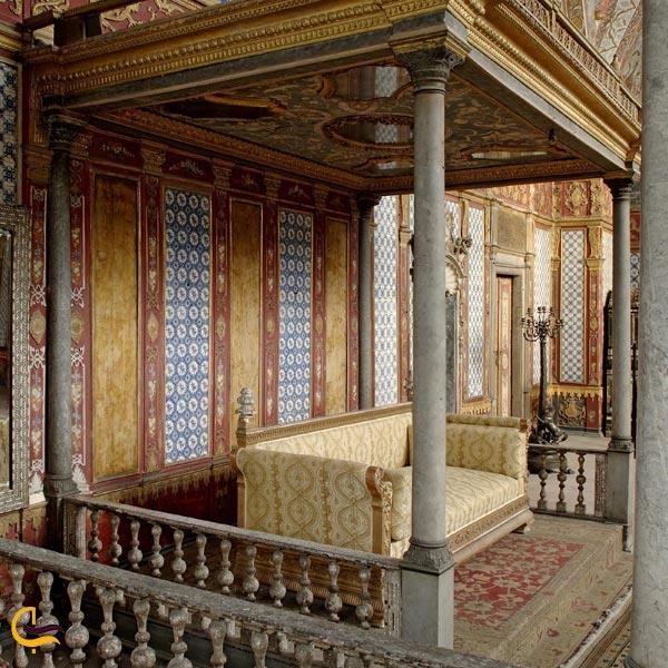 تصویری از حرمسرای کاخ طوپقاپو