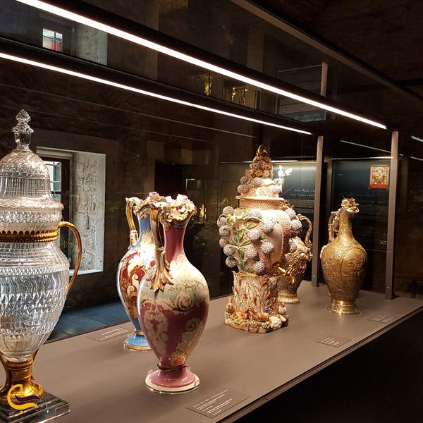 تصویری از موزه کاخ توپقاپی
