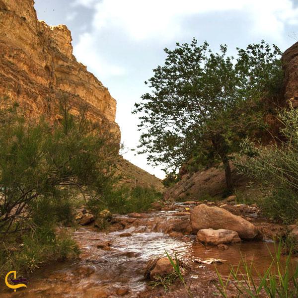 تصویری از دره ازنا در دهستان جاسب