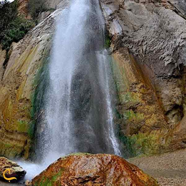 تصویری از آبشار شاهاندشت