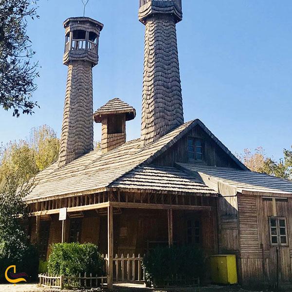 تصویری از خانه چوبین نیشابور