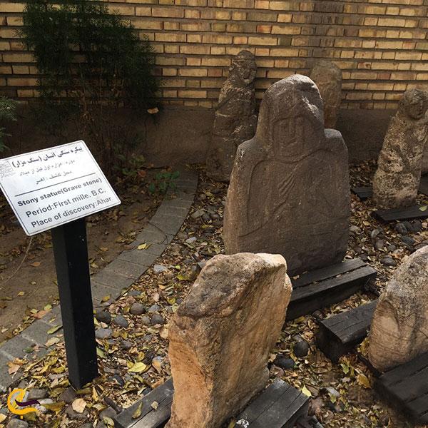 عکس آثار موزه سنگی تبریز
