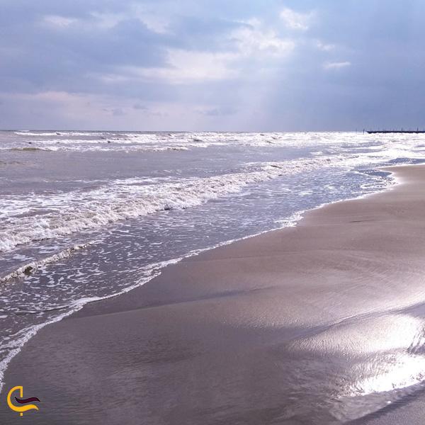 تصویری از ساحل قاسم آباد