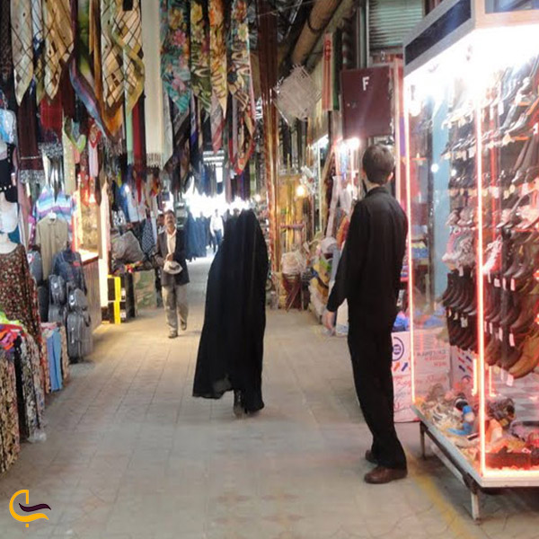 تصویری بازار چهارسو بناب