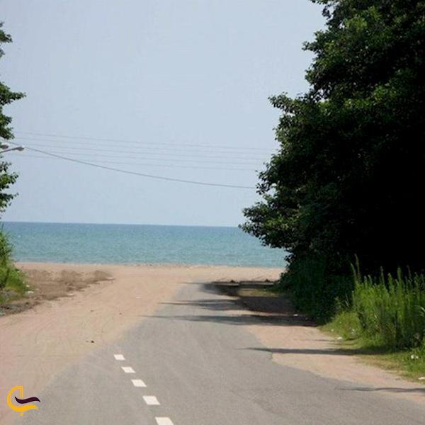 تصویری از ساحل رامدشت
