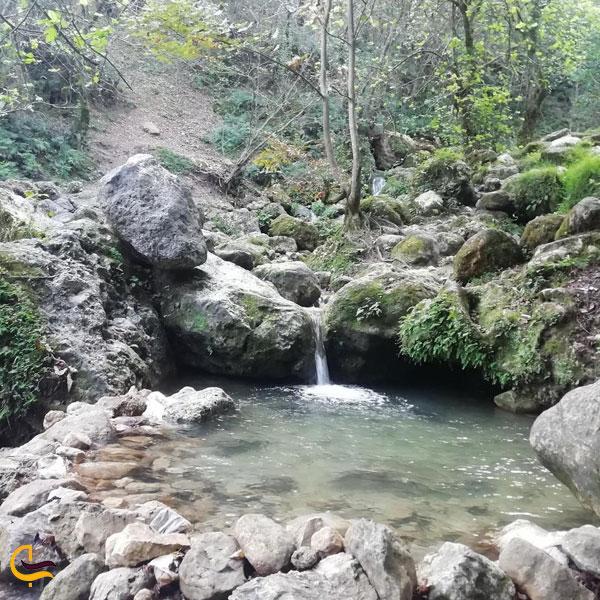 تصویری از آبشار چلندر