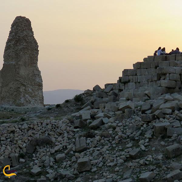 تصویری از شهر باستانی گور
