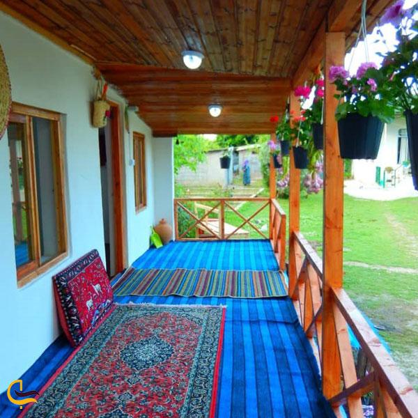 نمایی از اقامتگاه سنتی کلبه تالش