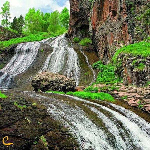 تصویری از طبیعت تابستانی ارمنستان