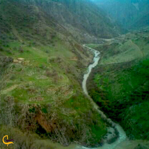 تصویری از رودخانه لیله