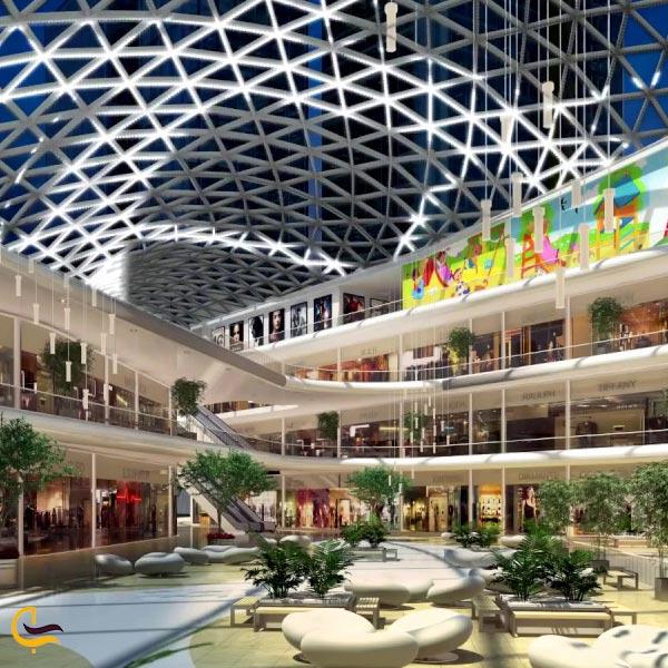 نمایی از داخل مرکز خرید استانبول مال