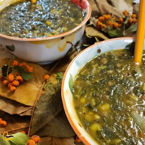 تصویری از غذای سنتی لیقوان